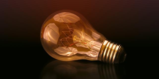 Lightbulb class=